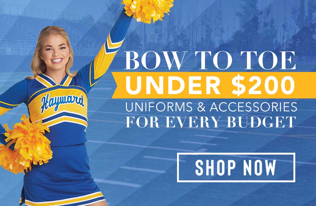 Custom Cheer Uniform Packs