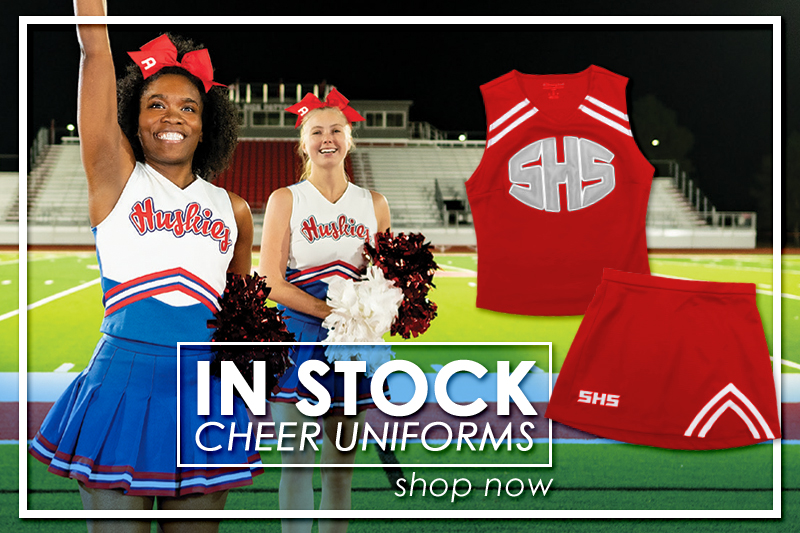 Customize your next Sideline Cheerleading Uniform